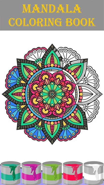 Mandala Coloring Book 2018 Screenshot 1