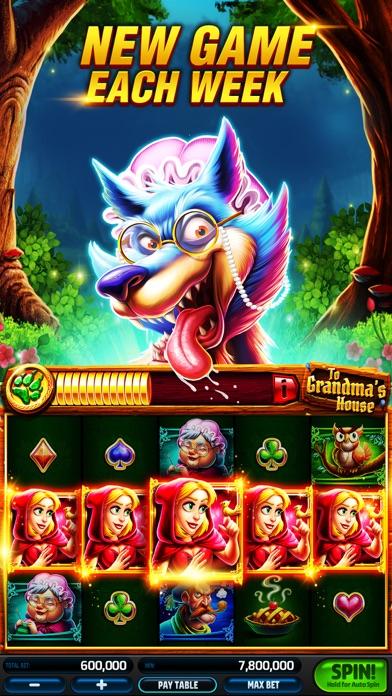 Screenshot of Slotomania: Vegas Slots Casino App