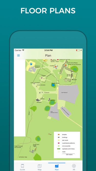 Chichen Itza Guide And Maps On The App Store - Chichen itza map
