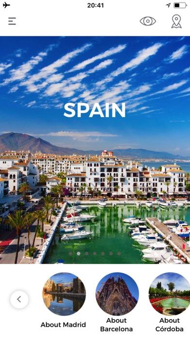 Espagne Guide de VoyageCapture d'écran de 1