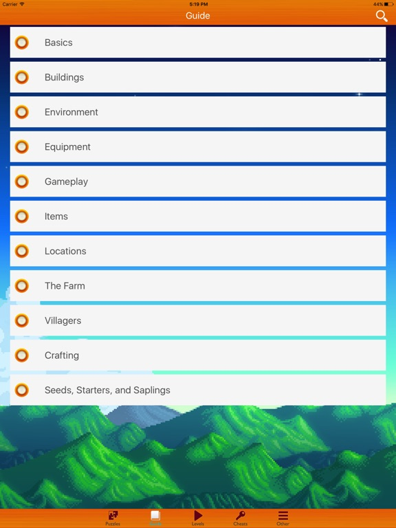 App Shopper Pro Guide For Stardew Valley Reference