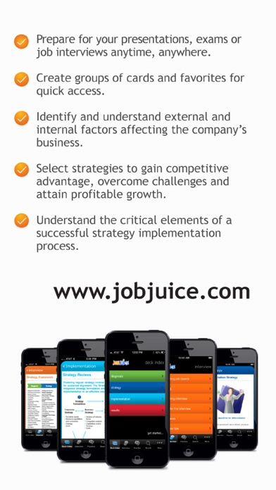 Jobjuice Strategy & Consulting Screenshots