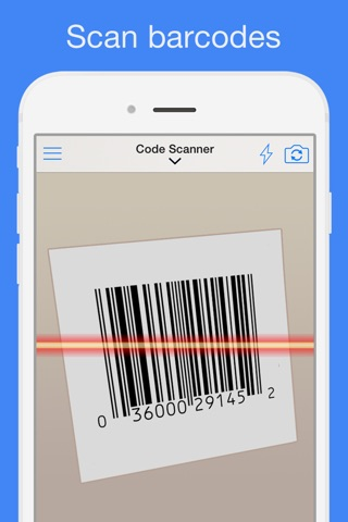 QR Reader for iPhone (Premium) screenshot 2