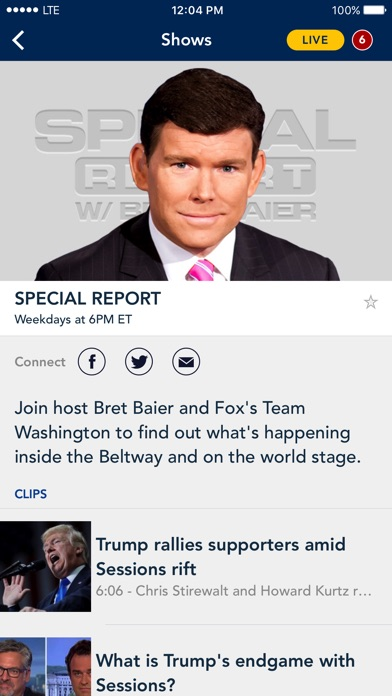 download Fox News: Live Breaking News apps 1