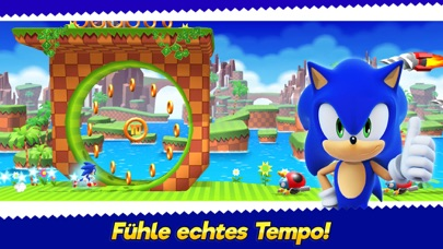 Sonic Runners Adventure iOS Screenshots