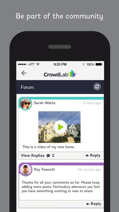 Screenshot of CrowdLab5