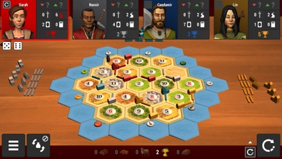 Catan Universe iOS Screenshots