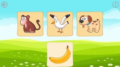 Еда животных. Игры для малышей Скриншоты5