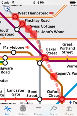 London Tube Map and Guide screenshot 4