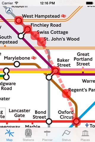 London Tube Map and Guide screenshot 4