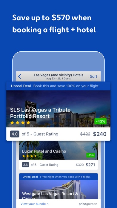 download Expedia: Hotels, Flights & Car apps 3