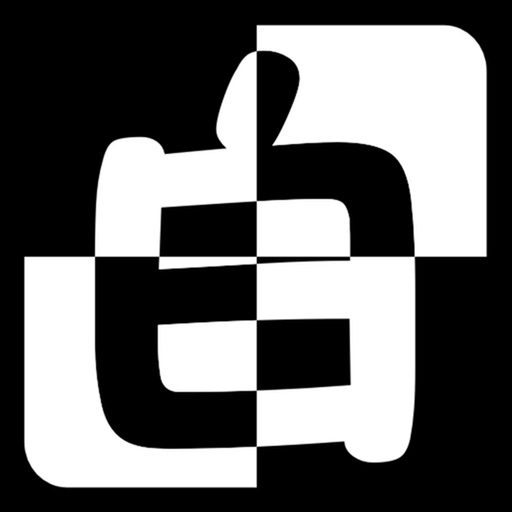 别碰白格子app icon图