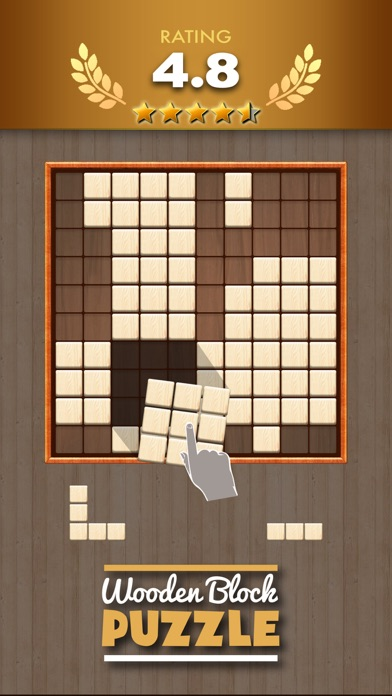 Screenshots of Wooden Block Puzzle Game for iPhone