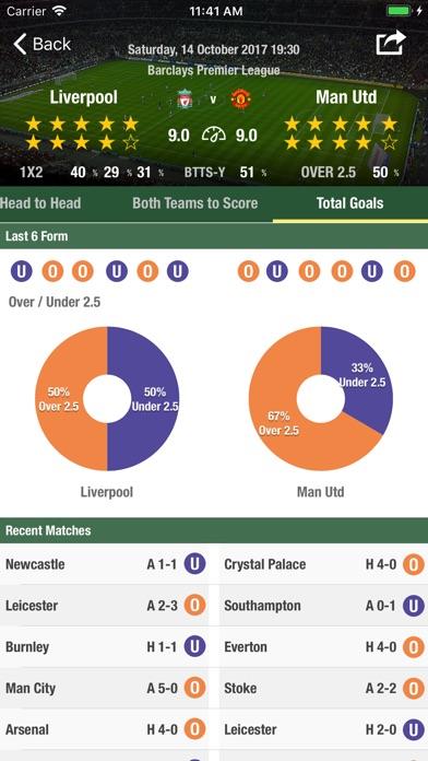 Football Forecast App Скриншоты7