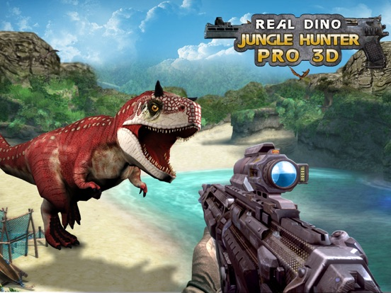 Real Dino Jungle Hunter Pro 3D Скриншоты6