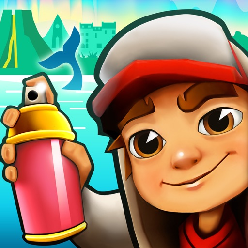 Subway Surfers free software for iPhone, iPod and iPad