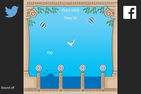 Dolphin Water Game screenshot 3