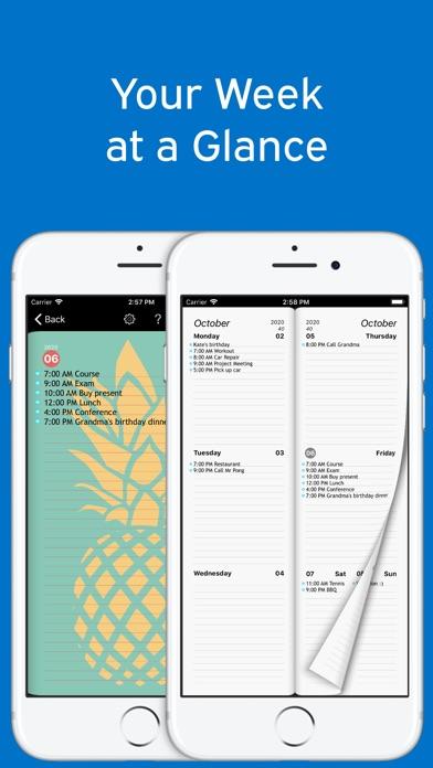 달력 - Week Calendar Ultimate 앱스토어 스크린샷