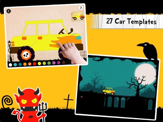 Labo Halloween Car(4+) Screenshots