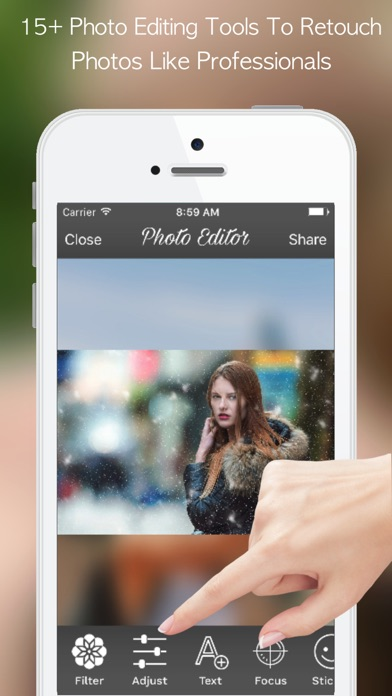 PicZone:Photo Editor & Sticker Screenshots