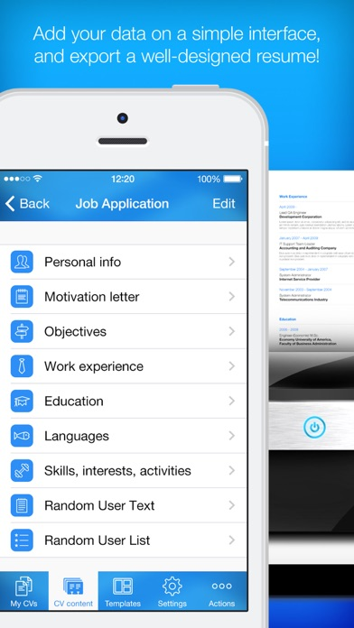 resume builder resume maker on the app store