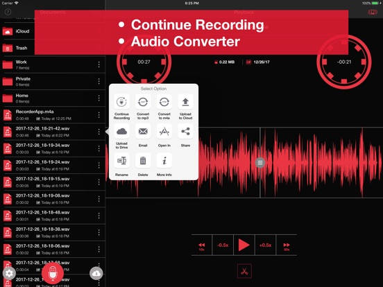 Recorder App Pro Screenshots