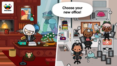 Toca Life: Office screenshot 1