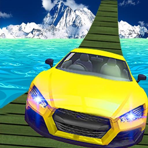 Off Road 4X4 Car Racing On Sea