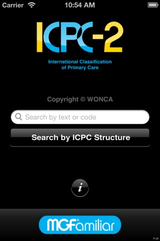 ICPC-2 screenshot 1
