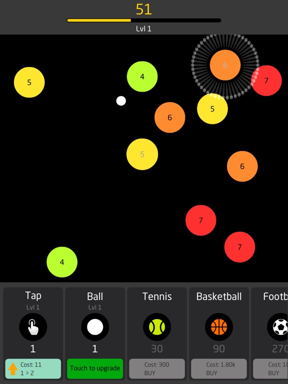 Image of Idle Balls for iPad