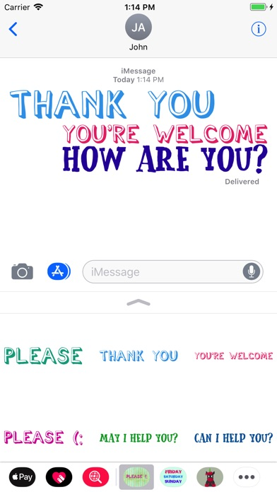 Manners Kindness Stickers review screenshots