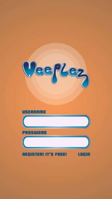 Screenshot of Weeplez App