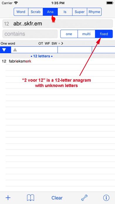 NL Woordvinder Nederlands PRO Скриншоты6