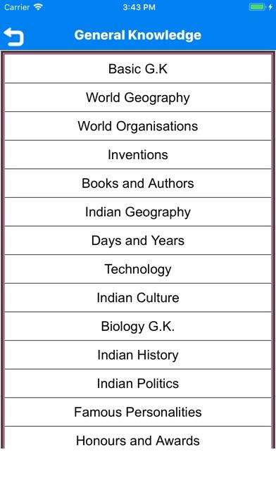 general knowledge handbook app  android apk