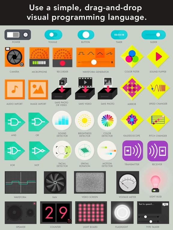 Everything Machine by Tinybop Screenshots