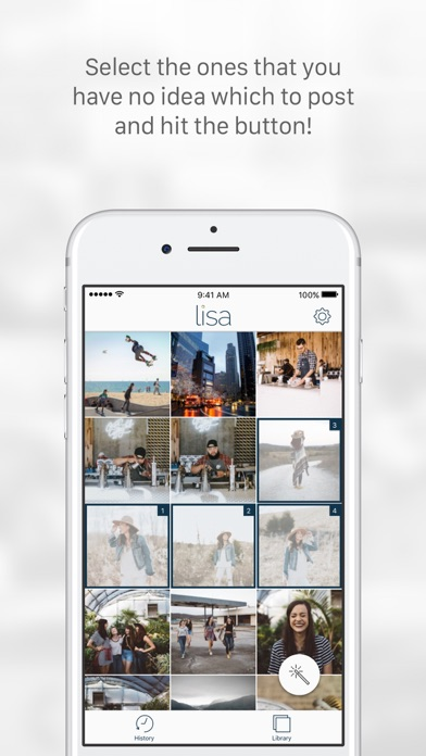 Lisa: Photo Assistant for Instagram 앱스토어 스크린샷