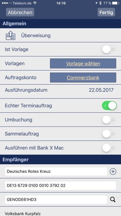 Screenshot von Bank X Mobile4