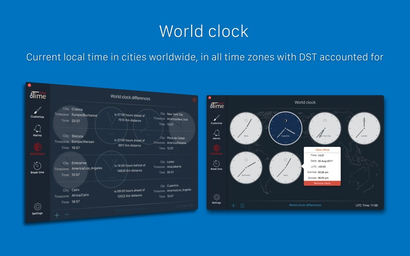 OnTime PRO - The ultimate time tool for Mac