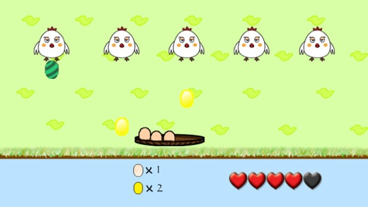 Chicken Egg Catcher Screenshot