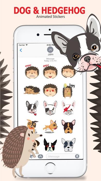 Animated Dog & Hedgehog screenshot 2