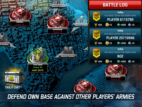 UNKILLED PvP Zombie Shooter 3D Screenshots