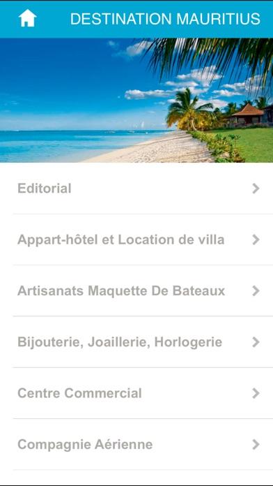 Destination MauritiusCapture d'écran de 2