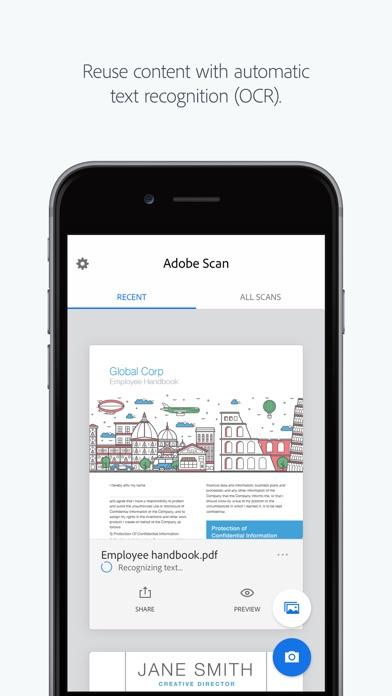 Adobe Scan: PDF Scanner, Documents, Receipts Screenshot 4