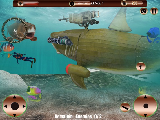 Angry Robot Shark Simulator screenshot 8