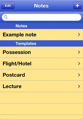 SmarterNote screenshot 1