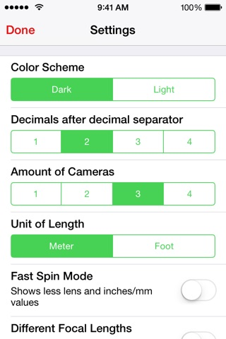 Simple DoF Calculator screenshot 4