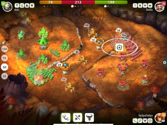 Mushroom Wars 2 для iPad