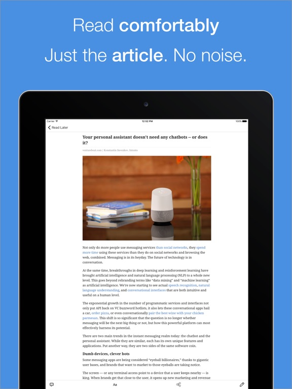 Paperspan save web for later on the app store ipad screenshot 2 ccuart Image collections