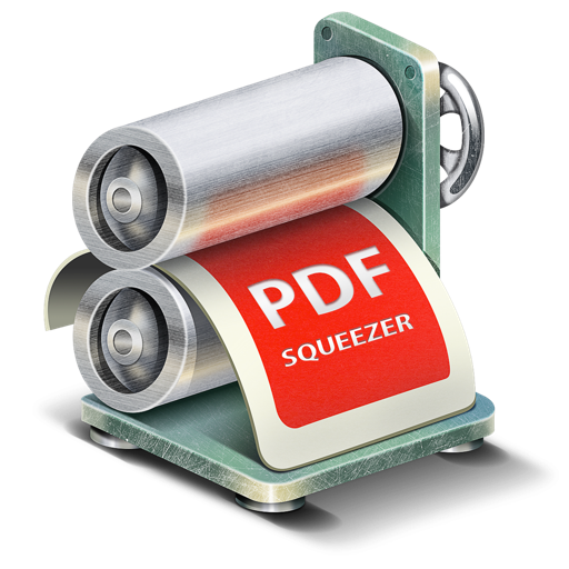 PDF的文件压缩工具 PDF Squeezer  for Mac
