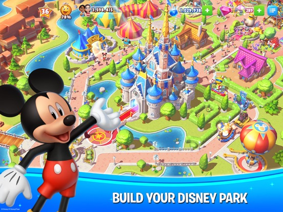 Disney Magic Kingdoms iPad
